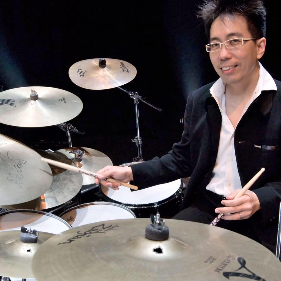 Tama Goh on the Drums