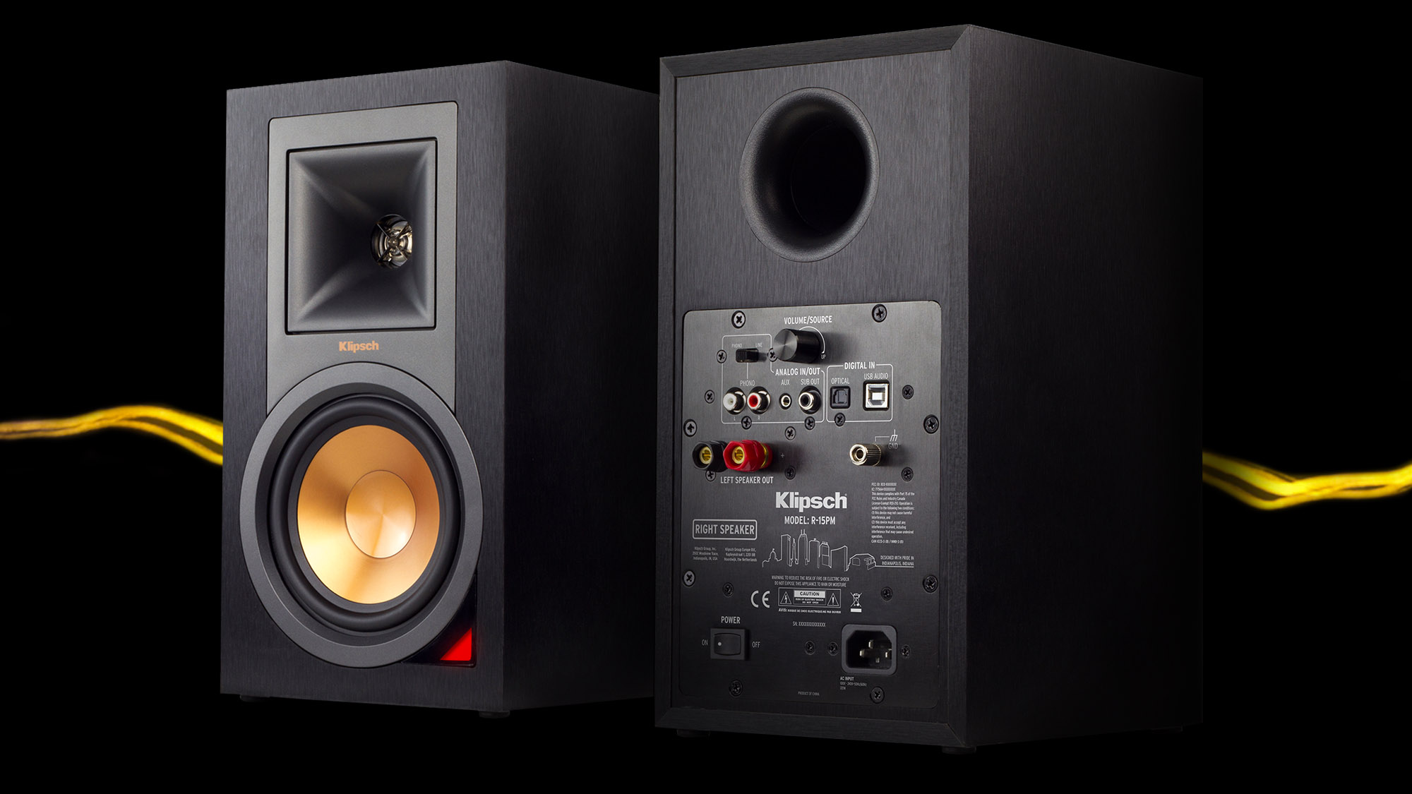 Image result for Klipsch R-15PM Powered Monitors